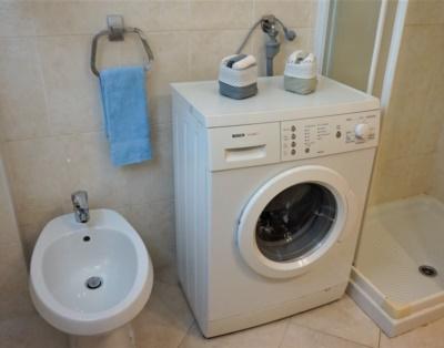 Wash machine-holiday apartment